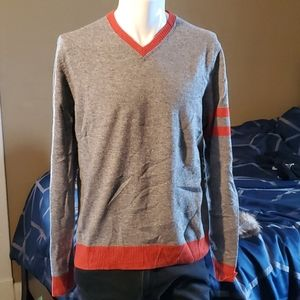 RED FLEECE by Brooks Brothers V Neck Sweater